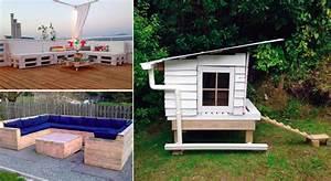 idees meubles jardin accueil design et mobilier With idee pour jardin exterieur 3 les palettes reinventent le mobilier de jardin
