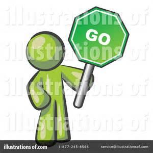 Green Go Sign Clip Art