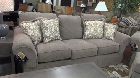 ashley furniture sonnenora sofa chair ottoman  review youtube