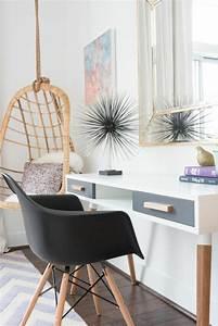 Bureau Chambre Ado Fille : id es d co pour une chambre ado fille design et moderne ~ Dallasstarsshop.com Idées de Décoration
