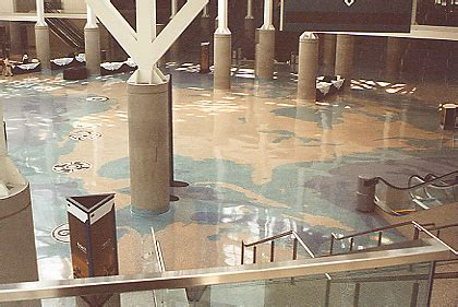 terrazzo floor smith pacific la convention center