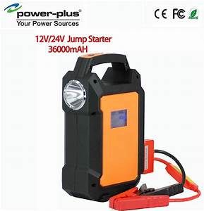 2015 V8 36000mah Emergency Start 12v 24v Diesel And