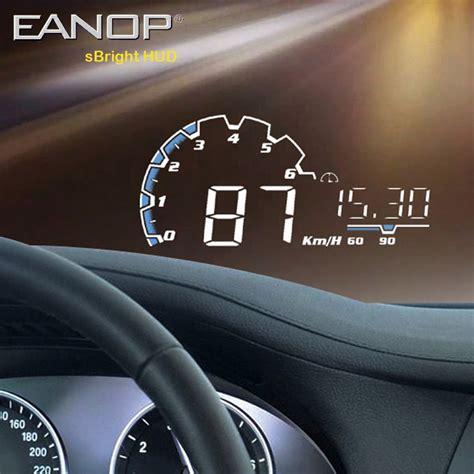 eanop sbright car hud head  display obd ii euobd