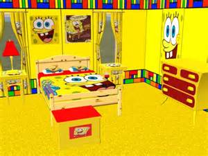 mod the sims complete spongebob bedroom set
