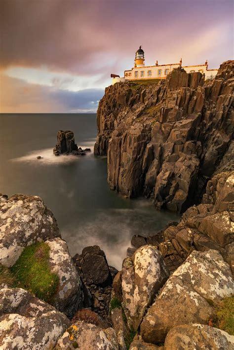 Neist Point Lighthouse Isle Of Skye Scotland Melvin
