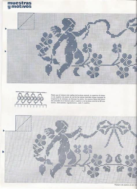 tappeti a punto croce pin by patrizia toni on filet 15 uncinetto tovaglie punti