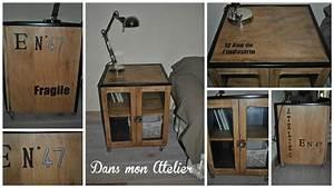 Petit Meuble Industriel : petit meuble pour un esprit industriel dans l 39 atelier de cabane aux ours ~ Teatrodelosmanantiales.com Idées de Décoration