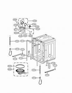 Lg Model Lds4821bb Dishwasher Genuine Parts