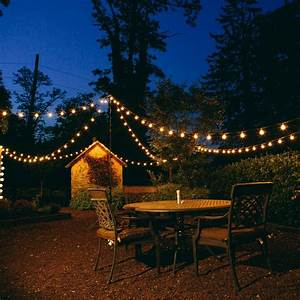 G40, Clear, Outdoor, Globe, Patio, String, Lights