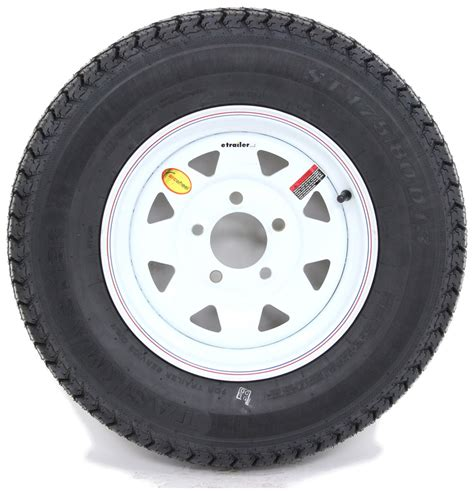 "Taskmaster St17580d13 Bias Trailer Tire With 13"" White"