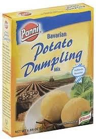 Manischewitz garlic & rosemary potato pancake mix 6 oz; Panni Dumpling Mix Potato, Bavarian 6.88 oz Nutrition ...