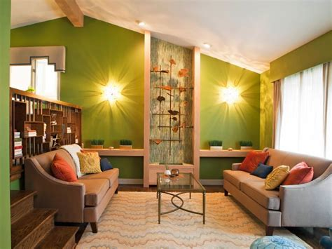 green living room colors 23 green wall designs decor ideas for living room Modern