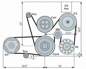 19155066 Ls1  Ls6 Serpentine Drive System
