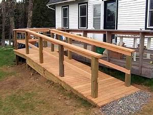 Bench Plan  How To Build Wood Handicap Ramps Info