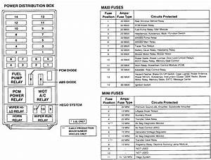 1996 Ford Ranger Power Distribution Box Diagram