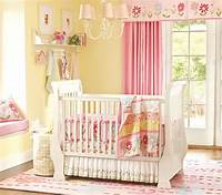 baby girls room Nice Pink Bedding for Pretty Baby Girl Nursery from Prottery Barn | Kidsomania