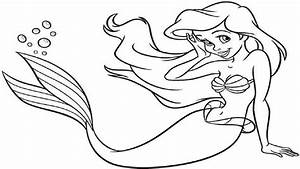 How To Draw A Mermaid Easy Drawing Lesson For Kids Art