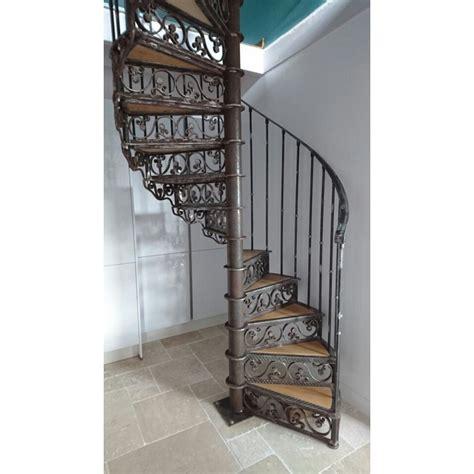 escalier en fer forg 233 sur mesure