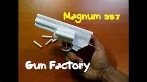 How To Make A Paper Magnum 357 Revolver