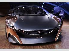Peugeot Onyx Concept Paris 2012 Photo Gallery Autoblog