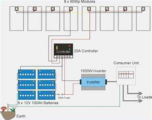 Solar Array Wiring Diagram  U2013 Vivresaville Com