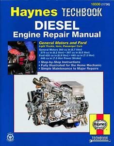 Gm And Ford Diesel Engine Repair Manual  Usa