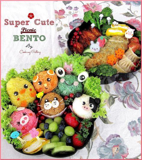 Super Cute Picnic Bento Cooking Gallery
