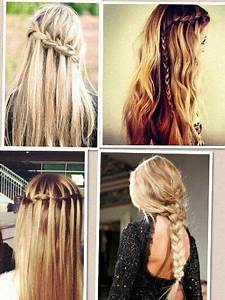 4 cute and easy braided hairstyles #hairstyles   Hair