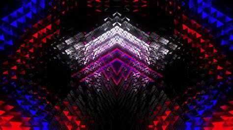 background polygons vj loop fullhd visuals