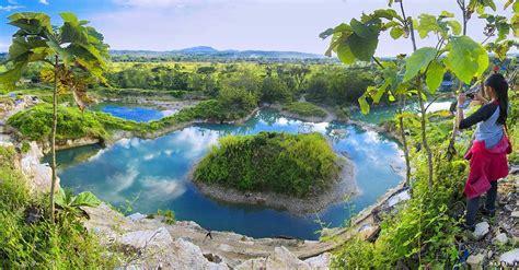 danau cantik  indonesia  warna biru  menawan
