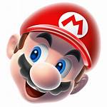 Funny Mario Super Transparent Head Icons Clipart