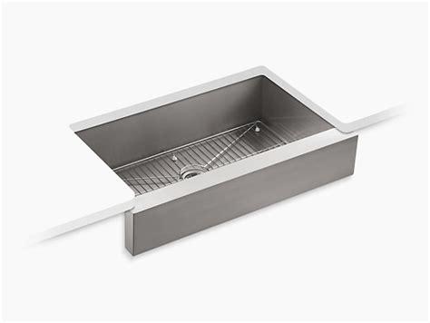 kohler vault kitchen sink k 3943 vault mount kitchen sink kohler 6708