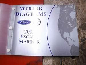 2005 Ford Escape Mercury Mariner Factory Wiring Diagrams