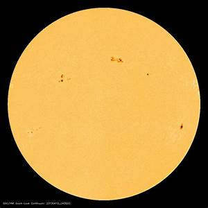Chromographics Institute » Blog Archive » Sunspot Alert