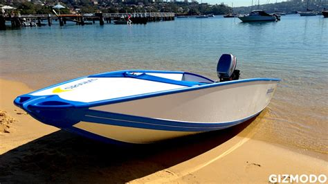 folding reality meet quickboats the aussie made folding boat of the