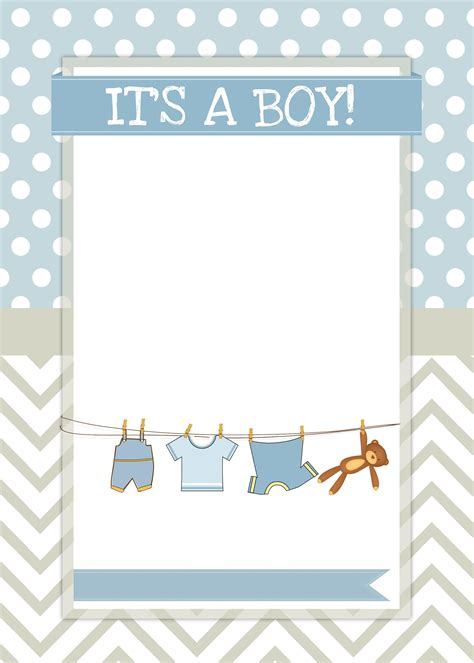 boy baby shower  printables   nest