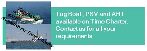 Tugboat Terms by Tugboat Psv Aht Available For Short And Long Terms