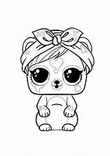 Lol Coloring Pages Pets Surprise Dolls Colouring Splatters Da Colorare Hairgoals Colour Drawing Princess Sea Under Di Fuzzy Popular sketch template