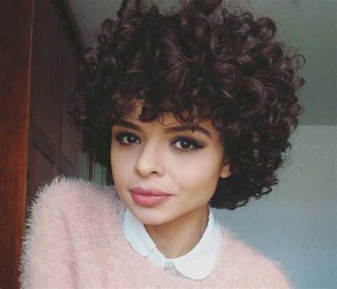 outstanding short hairstyles  curly hair