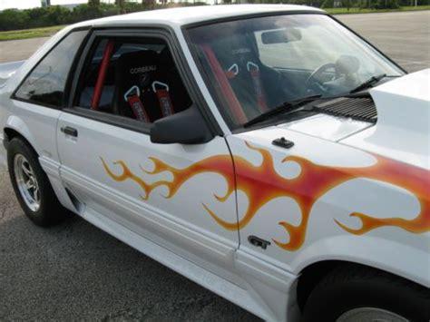 buy   ford mustang gt fox body streetstrip drag car