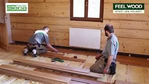 Jak položit dřevěnou podlahu na trámy