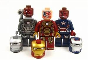 OFFICAL LEGO BRAND - - - IRON MAN, WAR MACHINE & IRON ...