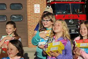 Girl Scouts Present Fire Department with Cookies | The ...