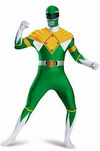 Brand New Mighty Morphin Green Power Ranger Bodysuit Tween ...