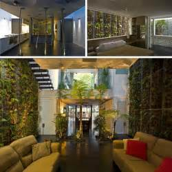 green home designs jungle home green tree filled interior moss lined walls