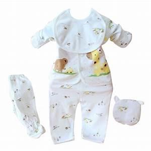 Cute Fashion Soft Newborn 0 3 Months Baby Boy Girl 5 Pcs ...