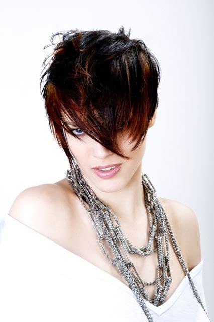 punk short hairstyles