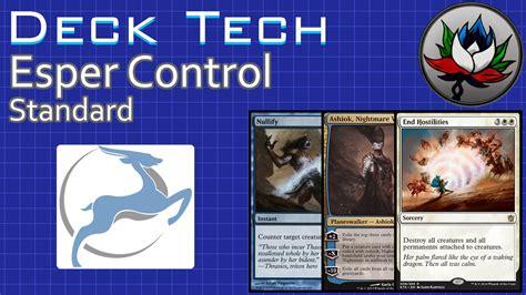 esper control standard deck tech with pucapoints khans