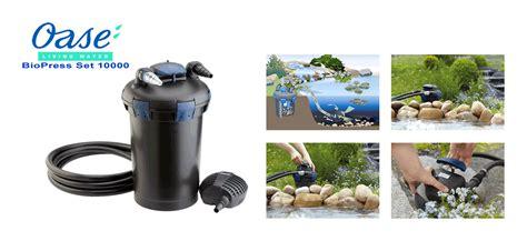 oase pond filter biopress set 10000 163 284 99