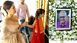 Aishwarya Rai Father Shradhanjali Day - Spotted Many ...